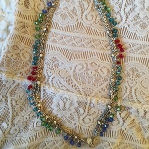Studded multicolored necklace